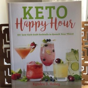 Keto Happy Hour cocktail book